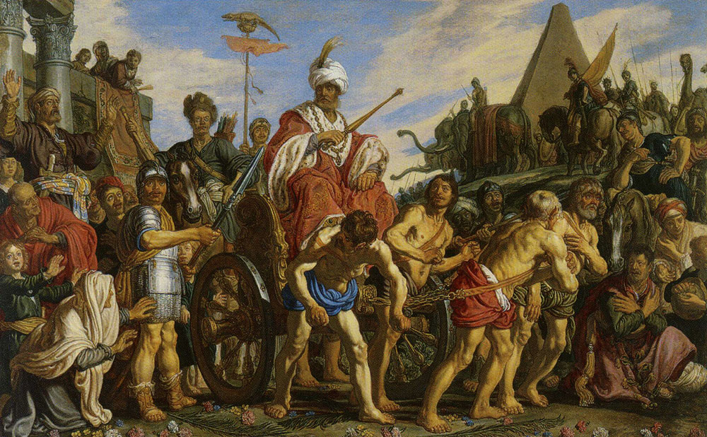 Pieter Lastman - The Triumph of Sesostris