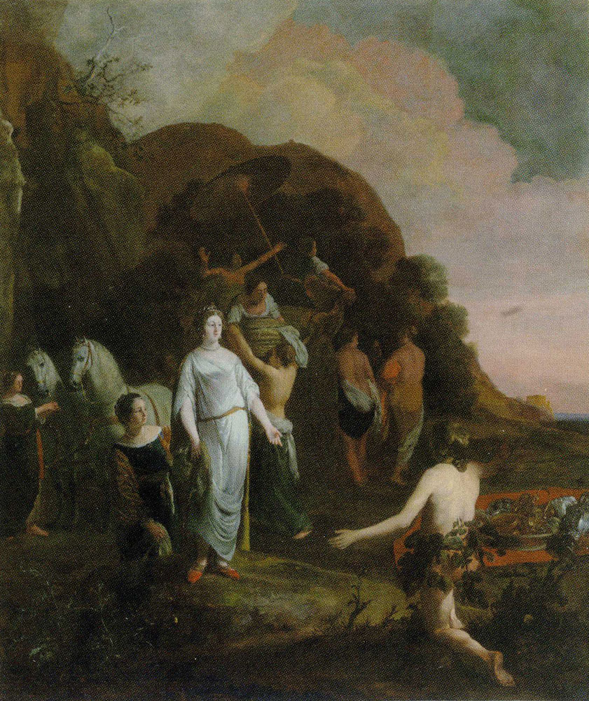 Thomas de Keyser - Odysseus and Nausicaa
