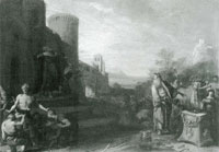 Bartholomeus Breenbergh St.Paul and Barnabas at Lystra