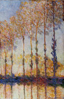 Claude Monet Poplars of the Bank of the Epte River
