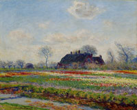 Claude Monet - Tulip Fields at Sassenheim