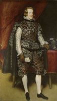 Diego Velazquez Philip IV in Brown and Silver