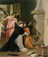 Diego Velazquez The Temptation of Saint Thomas Aquinas