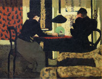 Edouard Vuillard Two Women under a Lamp