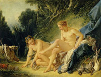 François Boucher Bath of Diana