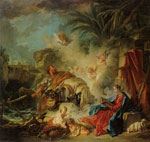 François Boucher Rest on the Flight into Egypt