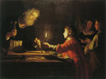 Gerrit van Honthorst Christ in the Carpenter's Shop
