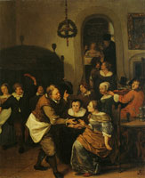 Jan Steen The Wedding Party