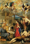 Juan Bautista del Maino Adoration of the Shepherds