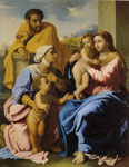 Nicolas Poussin Holy Family with John the Baptist and St. Elizabeth