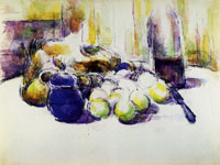 Paul Cezanne Still Life with Pears and Apples