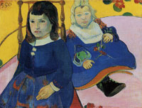 Paul Gauguin Two Children