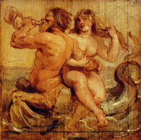 Peter Paul Rubens Nereid and Triton