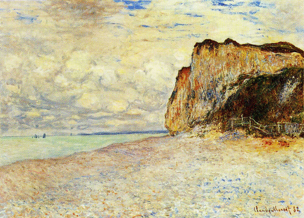 Claude Monet - Cliffs near Dieppe