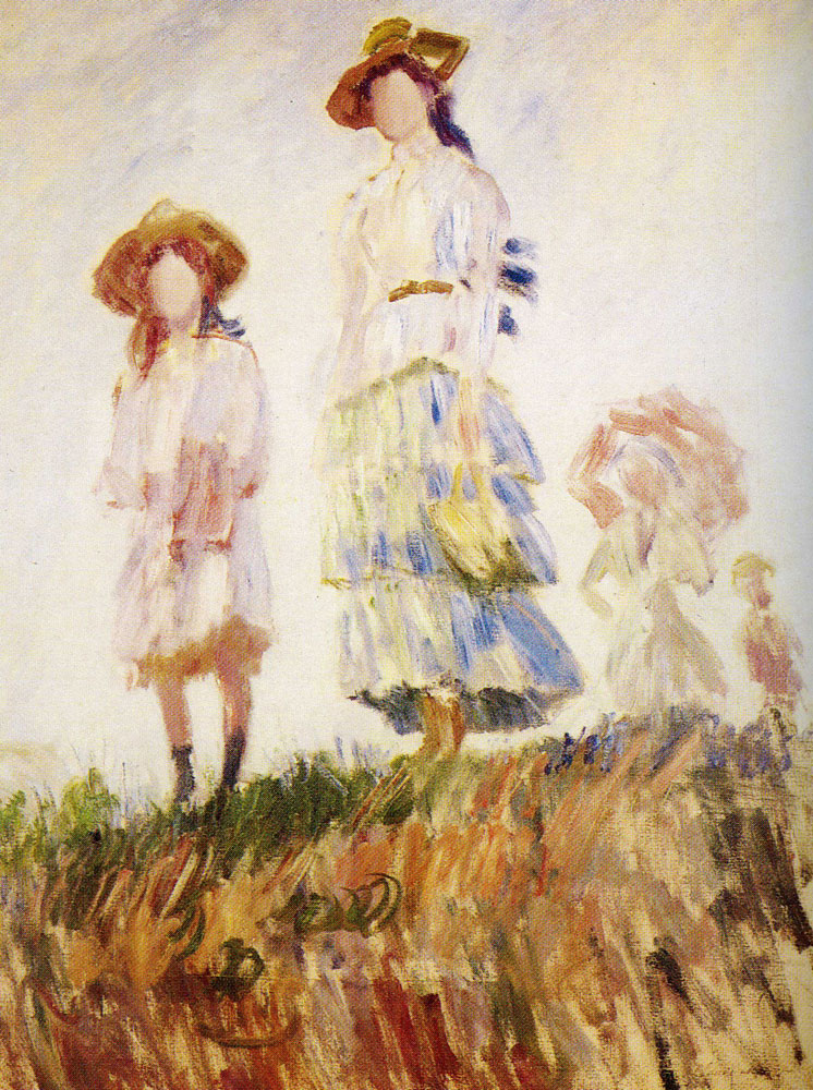 Claude Monet - The Walk (Sketch)