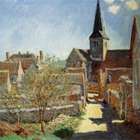 Claude Monet Bennecourt