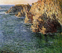 Claude Monet Cave at Port-Domois