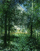 Claude Monet Undergrowth in Argenteuil