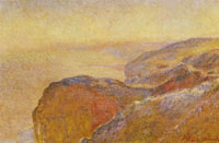Claude Monet - At Val Saint-Nicolas near Dieppe in the Morning