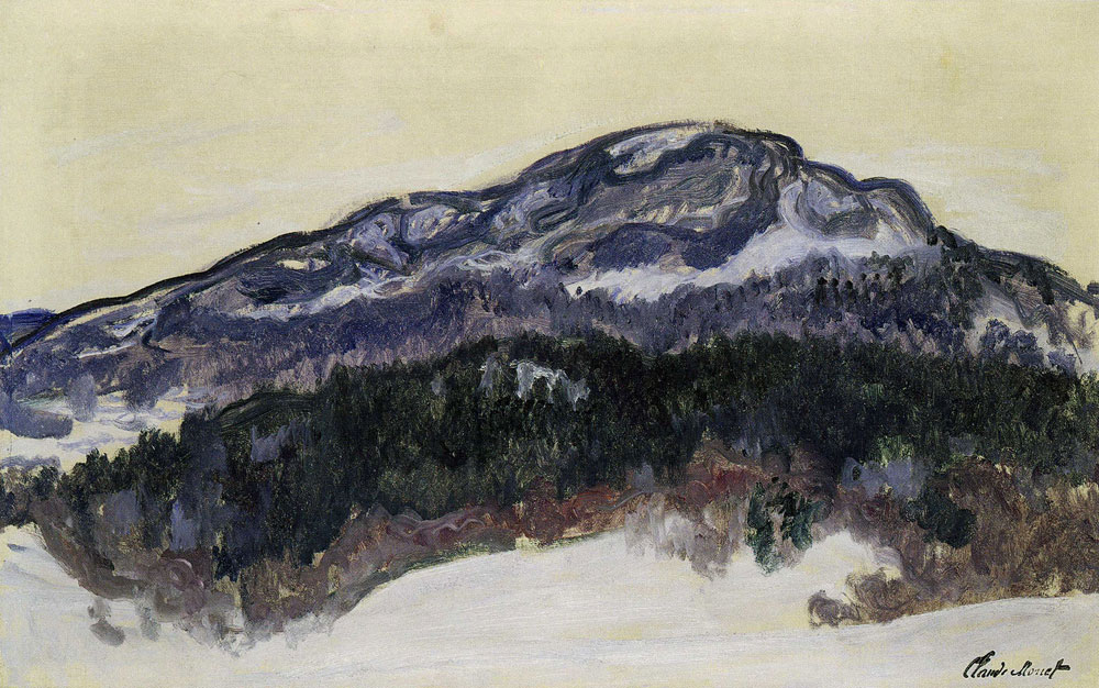 Claude Monet - Mount Kolsaas, Norway