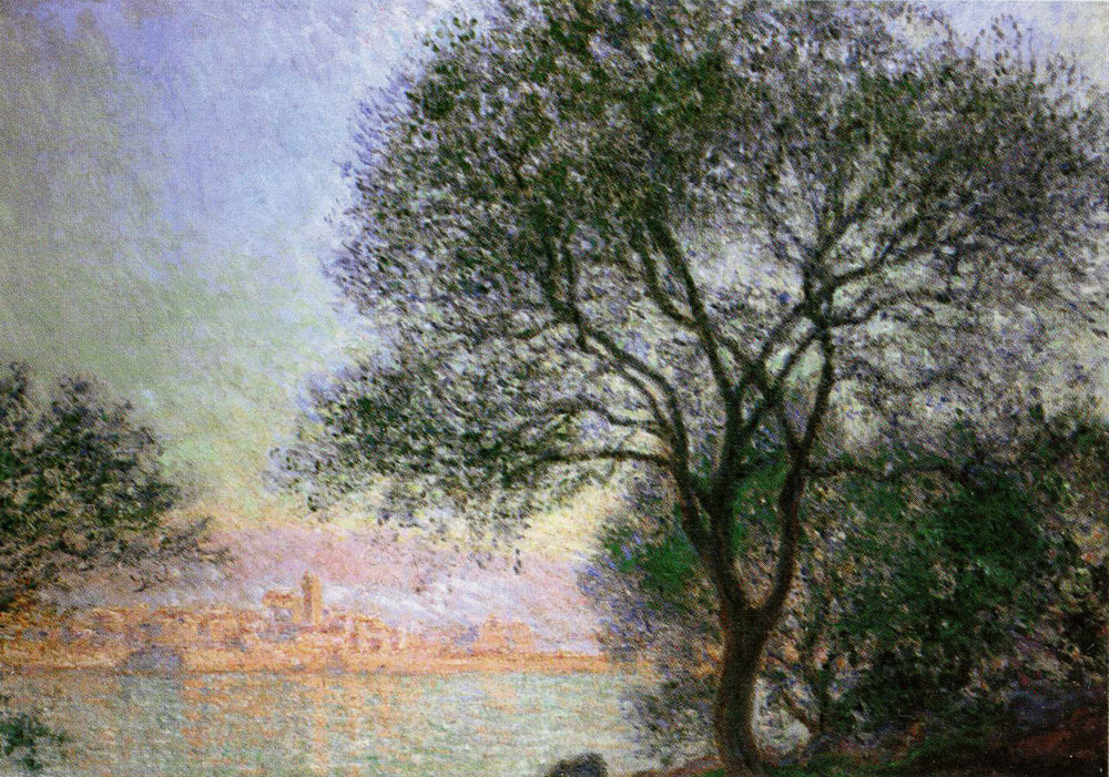 Claude Monet - Antibes Seen from the Salis Gardens