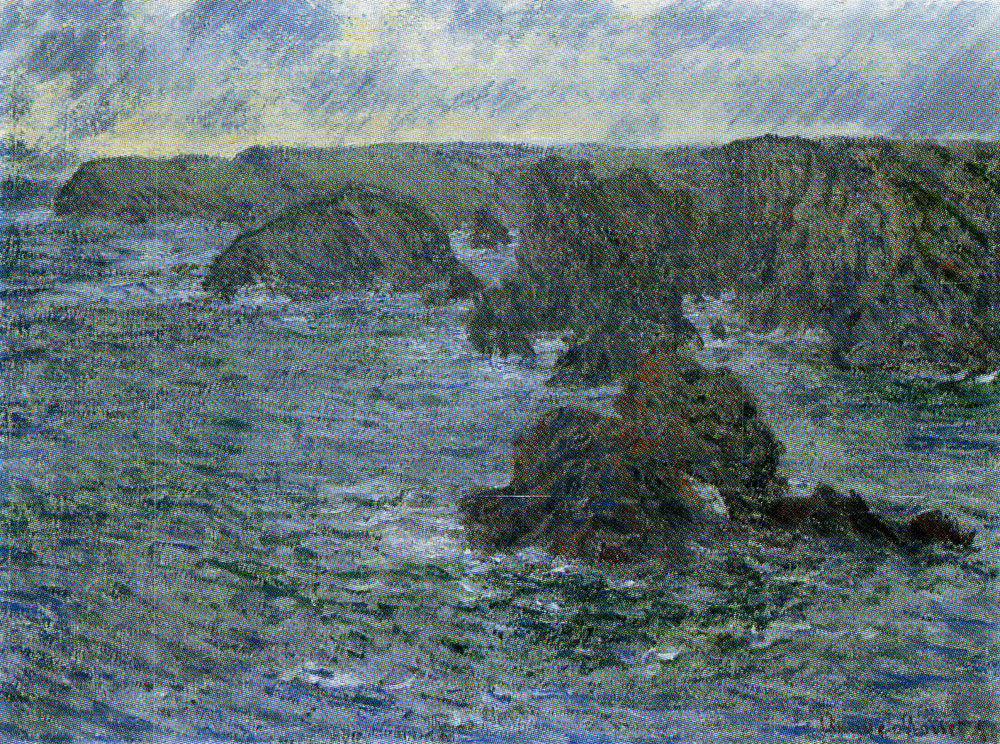 Claude Monet - Belle-Ile