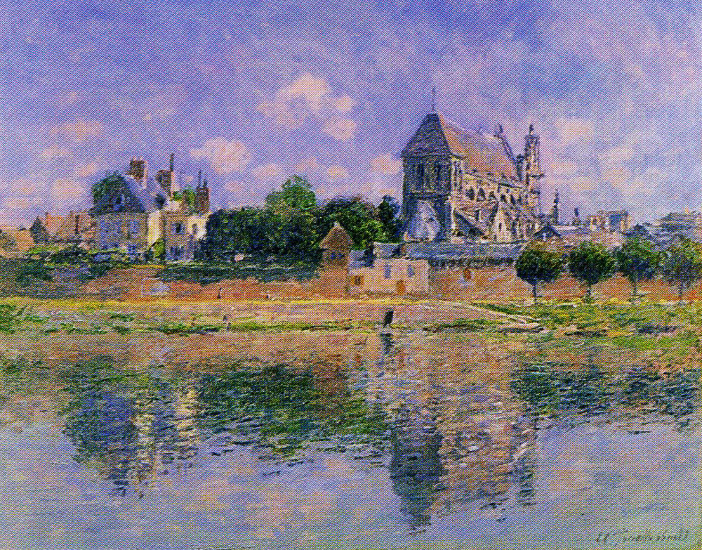 Claude Monet - View of the Church at Vernon