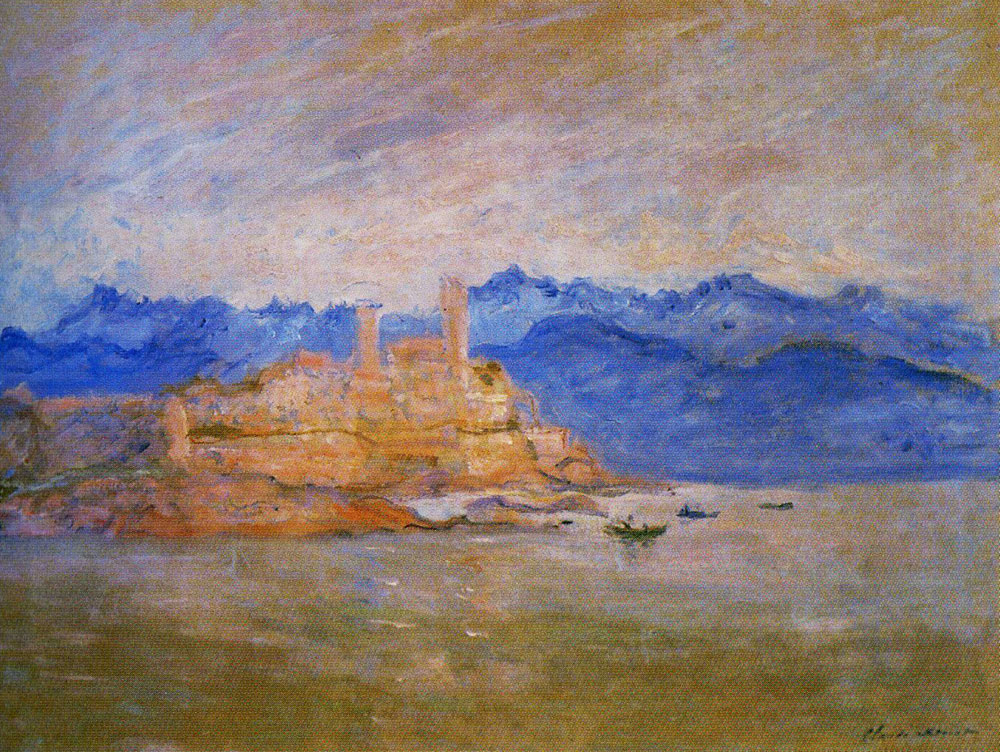 Claude Monet - The Fort of Antibes
