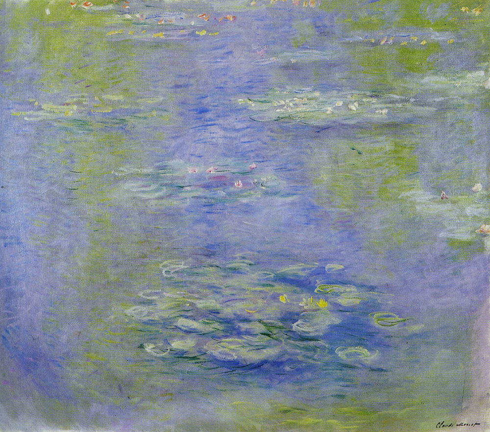 Claude Monet - Water-Lilies
