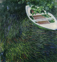 Claude Monet The Rowing Boat