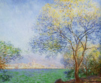 Claude Monet Antibes in the Morning