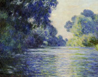 Claude Monet Arm of the Seine near Giverny
