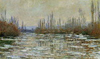 Claude Monet Breakup of Ice