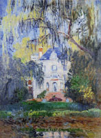 Claude Monet The House at Yerres