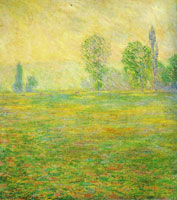 Claude Monet - Meadow at Giverny