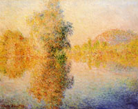 Claude Monet Morning on the Seine at Giverny
