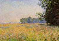Claude Monet Oat Field