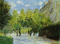 Claude Monet The Parc Monceau