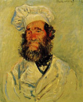 Claude Monet Portrait of Père Paul