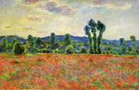 Claude Monet Poppy Field