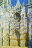 Claude Monet The Portal and the Tour d'Albane in the Sunlight