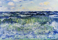 Claude Monet Sea Study