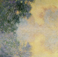 Claude Monet - Arm of the Seine near Giverny in the Fog