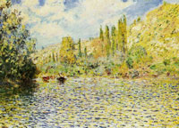 Claude Monet The Seine at Vétheuil