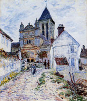 Claude Monet The Church at Vetheuil