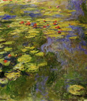 Claude Monet The Water-Lily Pond