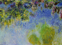 Claude Monet Wisteria