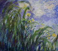 Claude Monet Yellow Irises