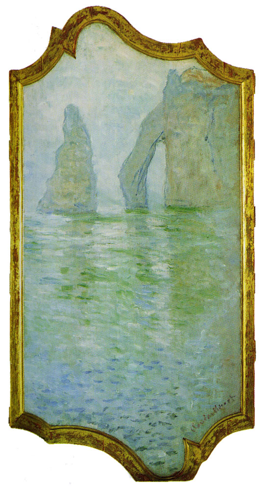 Claude Monet - The Rock Needle and the Porte d'Aval