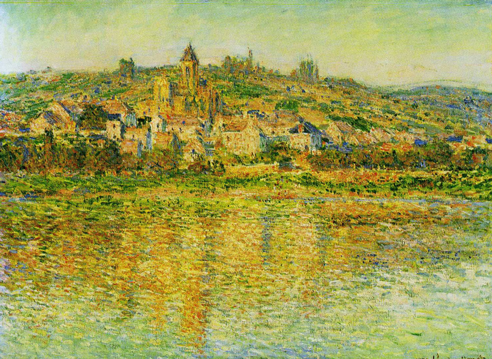 Claude Monet - Vétheuil in Summer